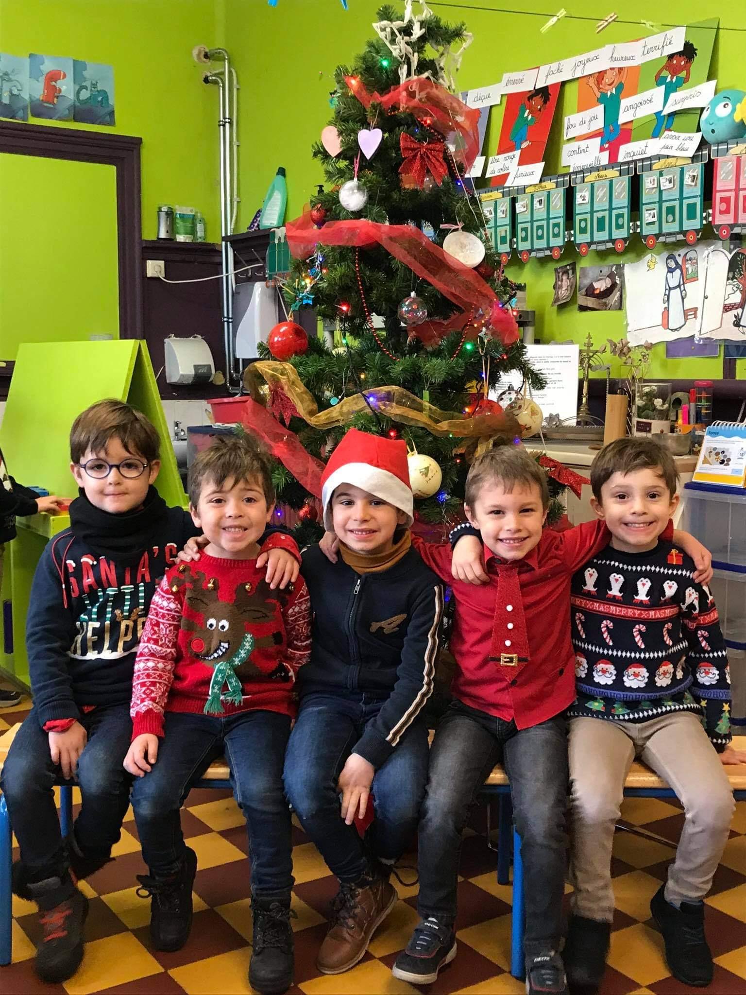 Journée du pull de Noël en M3