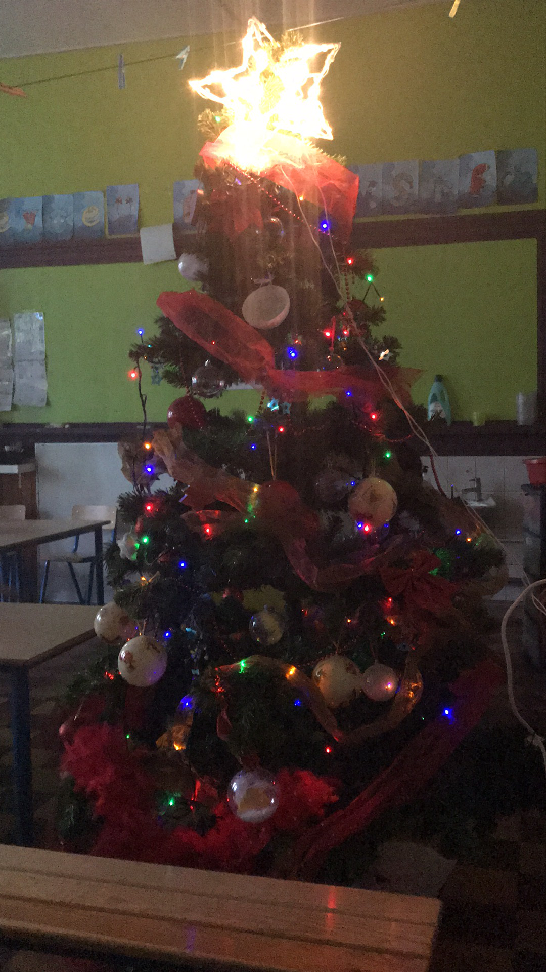 Préparation de Noël en M3